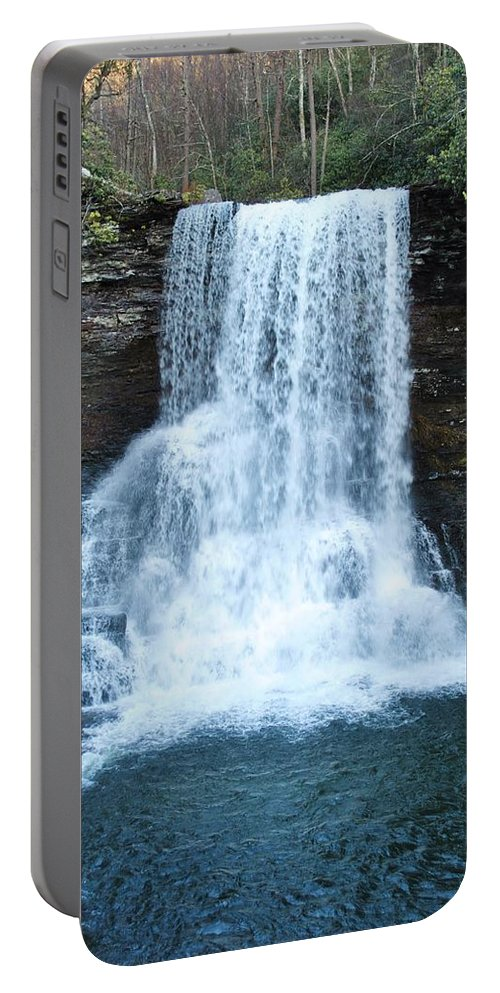 Cascades Portable Battery Charger featuring the photograph The Cascades by Eric Liller