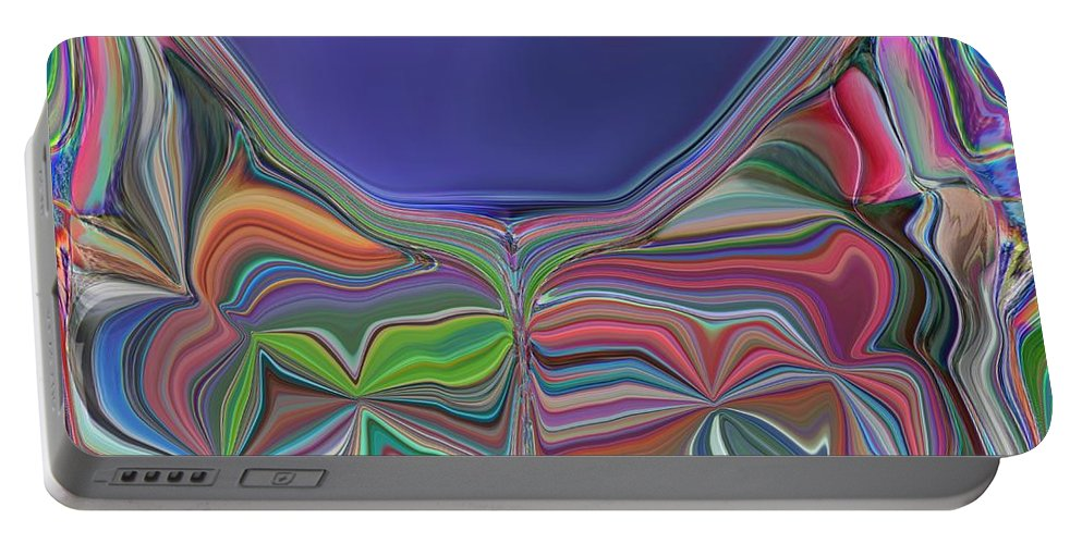 Chalice Portable Battery Charger featuring the digital art The Chalice by Tim Allen
