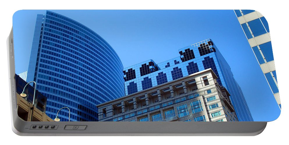 Chicago Portable Battery Charger featuring the photograph The Chicago Group by DB Artist