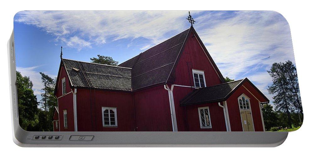 Jouko Lehto Portable Battery Charger featuring the photograph The Church Of Kustavi by Jouko Lehto