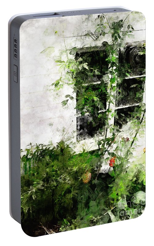Window Portable Battery Charger featuring the photograph The Climb by Claire Bull
