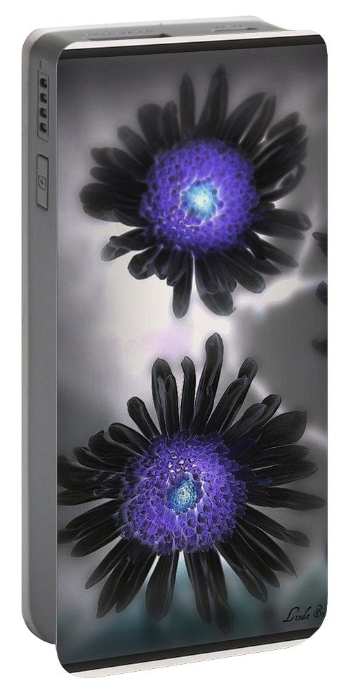 Flowers Portable Battery Charger featuring the photograph The Color Within by Linda Sannuti
