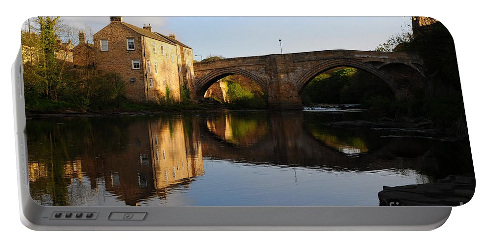 County Bridge Portable Battery Charger featuring the photograph The County Bridge by Smart Aviation