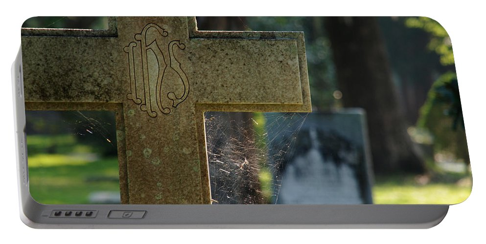 Cross Portable Battery Charger featuring the photograph The Cross by Susanne Van Hulst