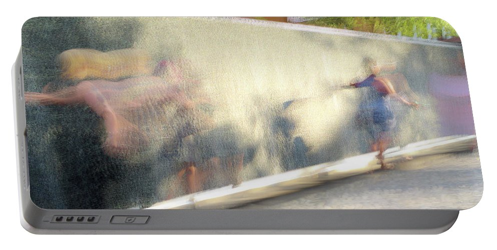 Dance Portable Battery Charger featuring the photograph The Dance Of Spring by Alex Lapidus