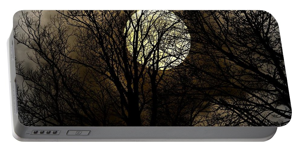 Digital Art Portable Battery Charger featuring the photograph The Darkness by Andrew Mcdermott