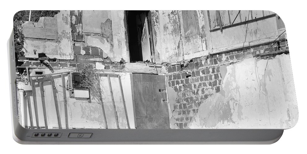 Architecture Portable Battery Charger featuring the photograph The Doorway To Darkness by Rob Hans