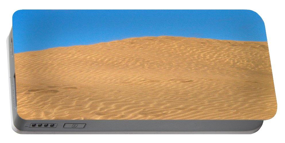 Lehtokukka Portable Battery Charger featuring the photograph The Dunes Of Maspalomas by Jouko Lehto