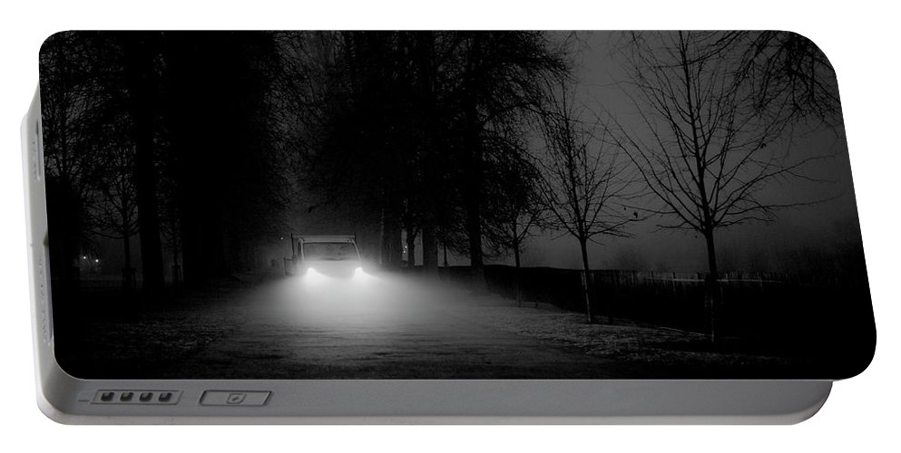Christ Church College Portable Battery Charger featuring the photograph The Dusk Is Deepening. Oxford, Uk by William Mankelow