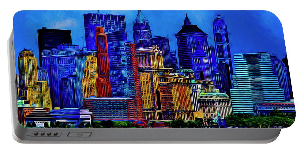 The East Side Portable Battery Charger featuring the photograph The East Side by Paul Wear