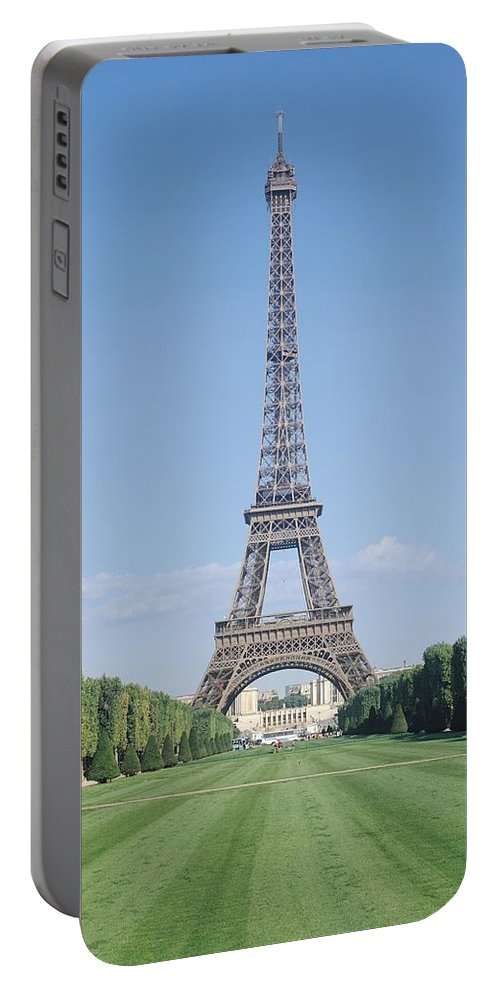 The Portable Battery Charger featuring the photograph The Eiffel Tower by French School