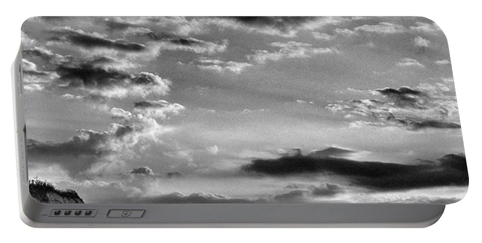 Natureonly Portable Battery Charger featuring the photograph The End Of The Day, Old Hunstanton by John Edwards