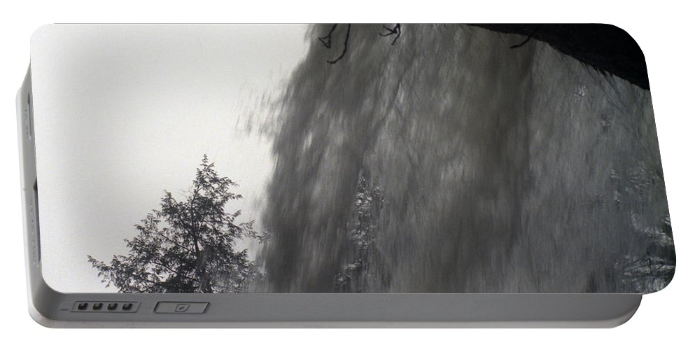 Waterfalls Portable Battery Charger featuring the photograph The Falls by Richard Rizzo