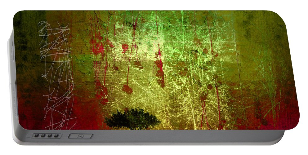 Tree Portable Battery Charger featuring the photograph The First Tree by Tara Turner