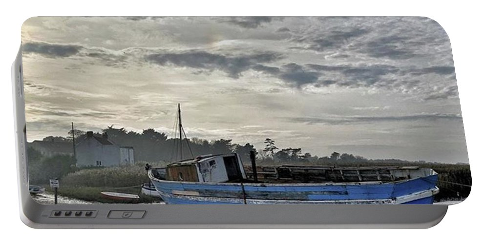 Beautiful Portable Battery Charger featuring the photograph The Fixer-upper, Brancaster Staithe by John Edwards