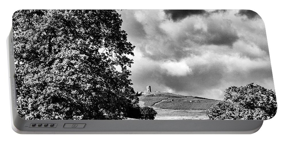 Parkland Portable Battery Charger featuring the photograph Old John Bradgate Park by John Edwards