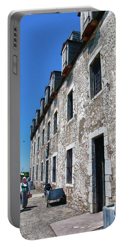 French Castle Portable Battery Charger featuring the photograph The French Castle 6664 by Guy Whiteley