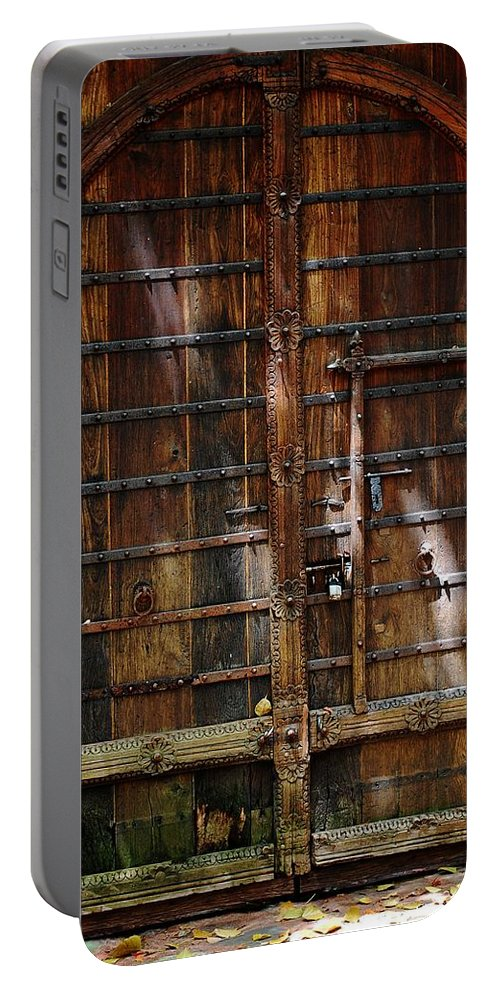 The Gate Portable Battery Charger featuring the photograph The Gate by Robert Meanor