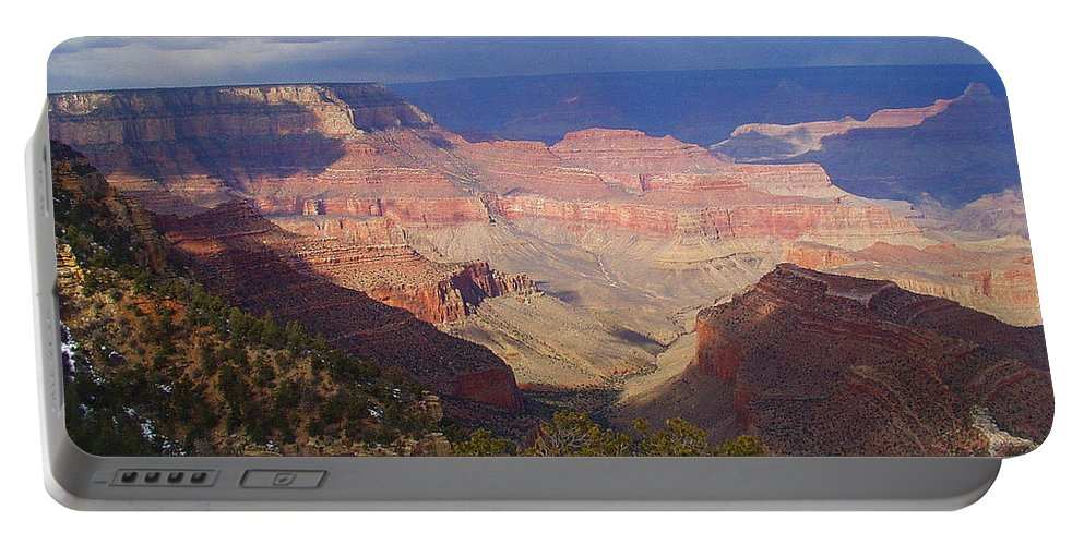 Grand Canyon Portable Battery Charger featuring the photograph The Grand Canyon by Marna Edwards Flavell