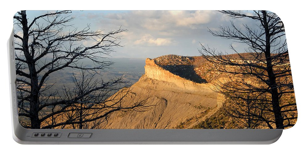 Mesa Portable Battery Charger featuring the photograph The Great Mesa by David Lee Thompson