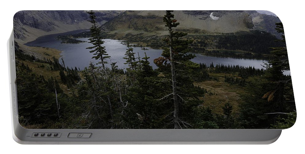 Wyoming Portable Battery Charger featuring the photograph The Hidden Lake by Michael J Samuels