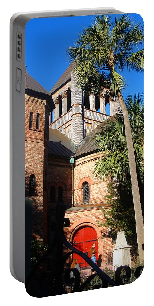 Photography Portable Battery Charger featuring the photograph The Holy City by Susanne Van Hulst