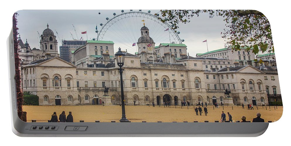 The Household Cavalry Museum Portable Battery Charger featuring the photograph The Household Cavalry Museum London by Alex Art and Photo