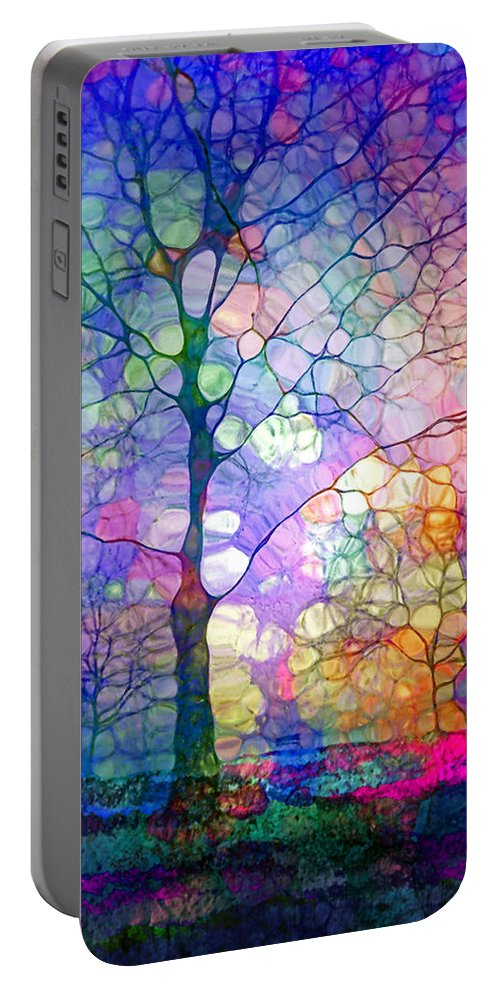 Tree Portable Battery Charger featuring the photograph The Imagination Of Trees by Tara Turner