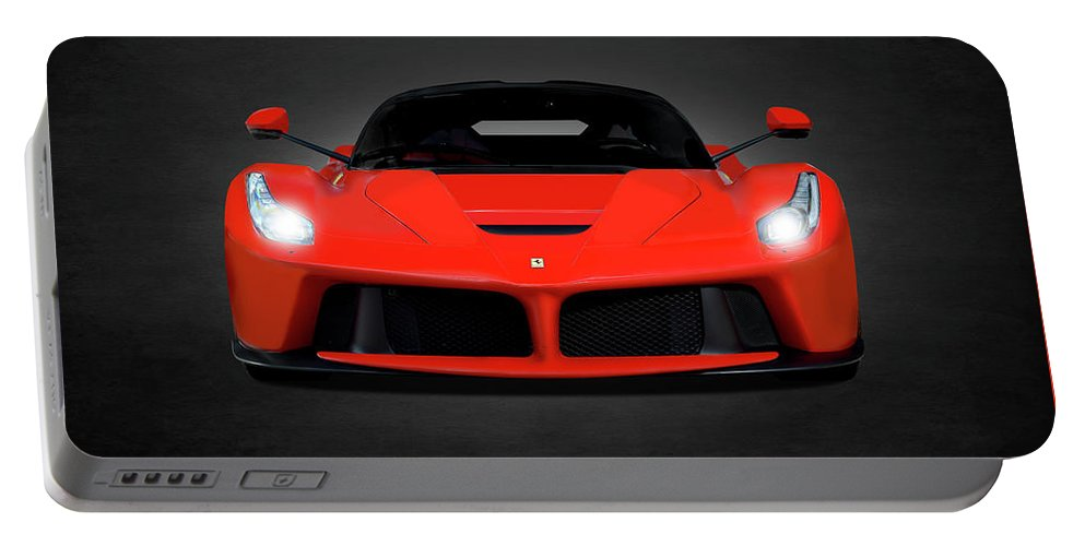 Ferrari Portable Battery Charger featuring the photograph The Laferrari by Mark Rogan