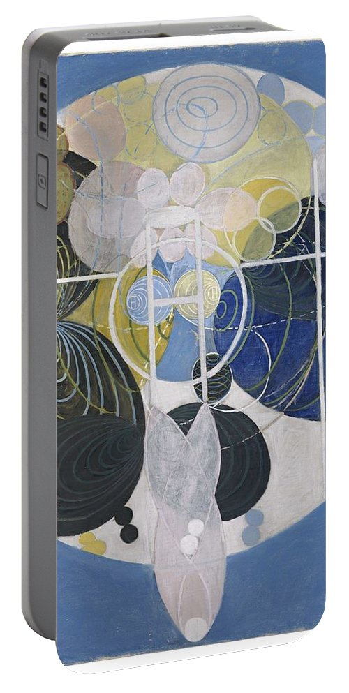 Art Portable Battery Charger featuring the painting The Large Figure Paintings No 5 Group 3 Hilma Af Klint 1907 by Hilma af Klint