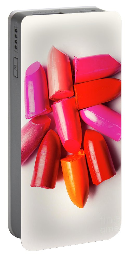 Beauty Portable Battery Charger featuring the photograph The Makeup Breakup by Jorgo Photography - Wall Art Gallery