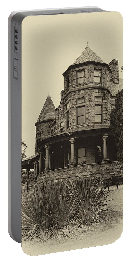 Ann Keisling Portable Battery Charger featuring the photograph The Manor House by Ann Keisling