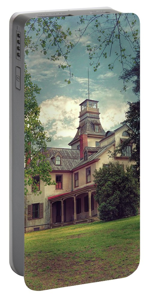 Mansion Portable Battery Charger featuring the photograph The Mansion by John Rivera