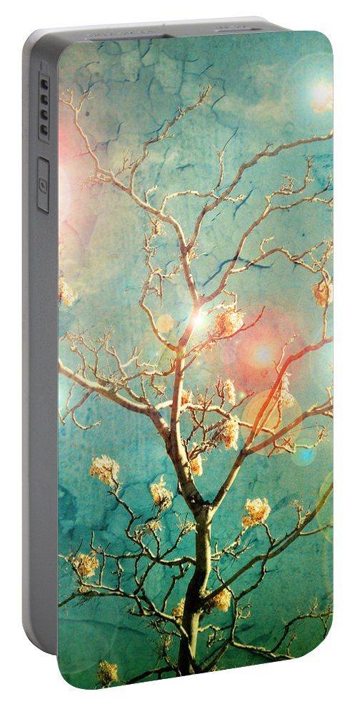 Tree Portable Battery Charger featuring the photograph The Memory Of Dreams by Tara Turner