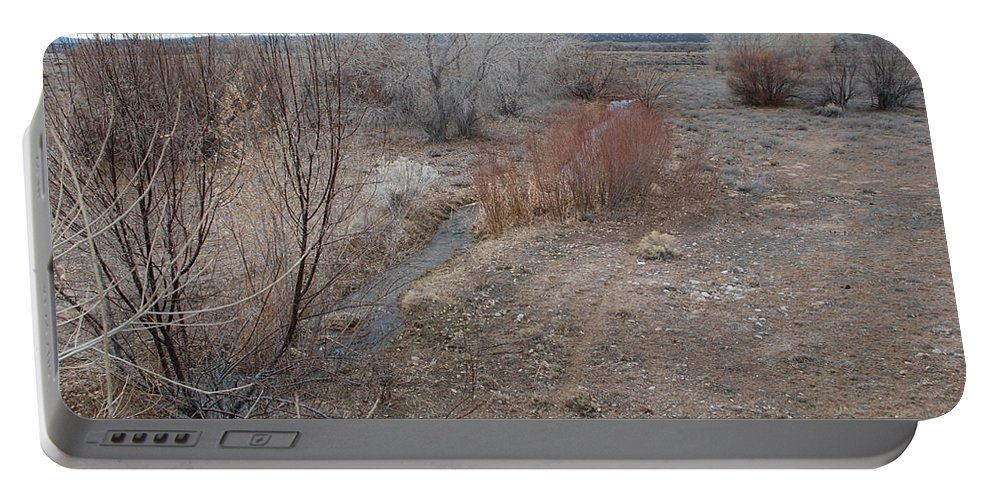 River Portable Battery Charger featuring the photograph The Mighty Santa Fe River by Rob Hans