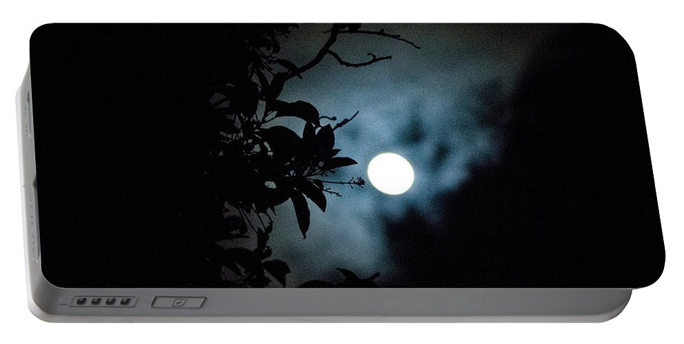 The Moon Portable Battery Charger featuring the photograph The Moon - La Luna 12 by Totto Ponce