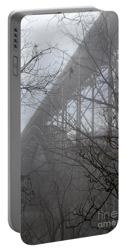 New River Gorge Portable Battery Charger featuring the photograph The New River Gorge Bridge by Suranga Basnagala
