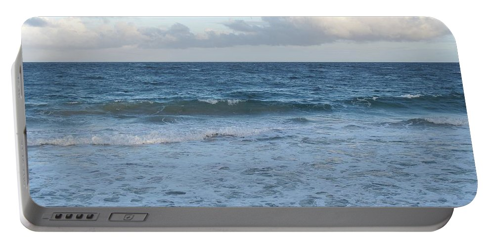 Surf Portable Battery Charger featuring the photograph The Next Wave by Ian MacDonald