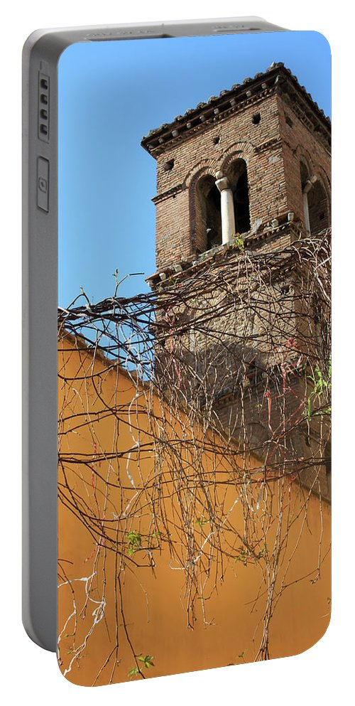Rome Portable Battery Charger featuring the photograph The Obstacles by Munir Alawi