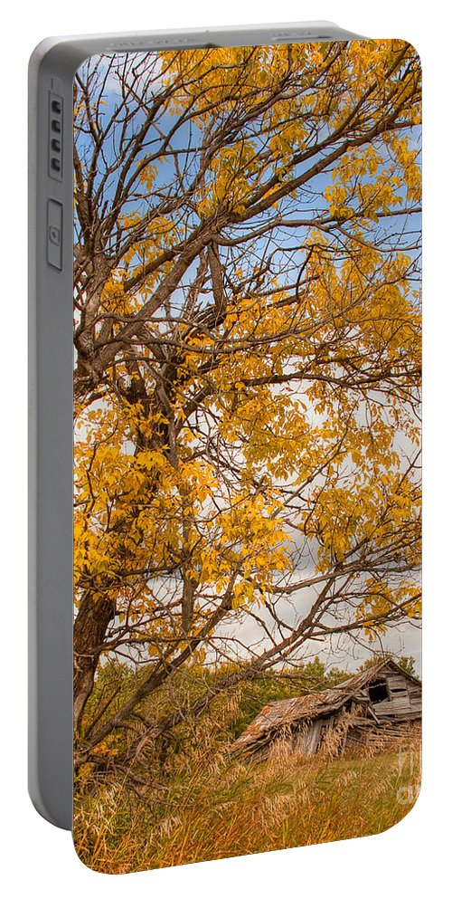 Canada Portable Battery Charger featuring the photograph The Old Homestead by Colette Panaioti