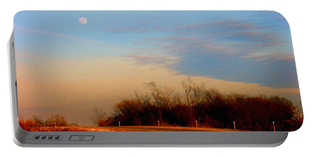 Landscape Portable Battery Charger featuring the photograph The On Ramp by Steve Karol