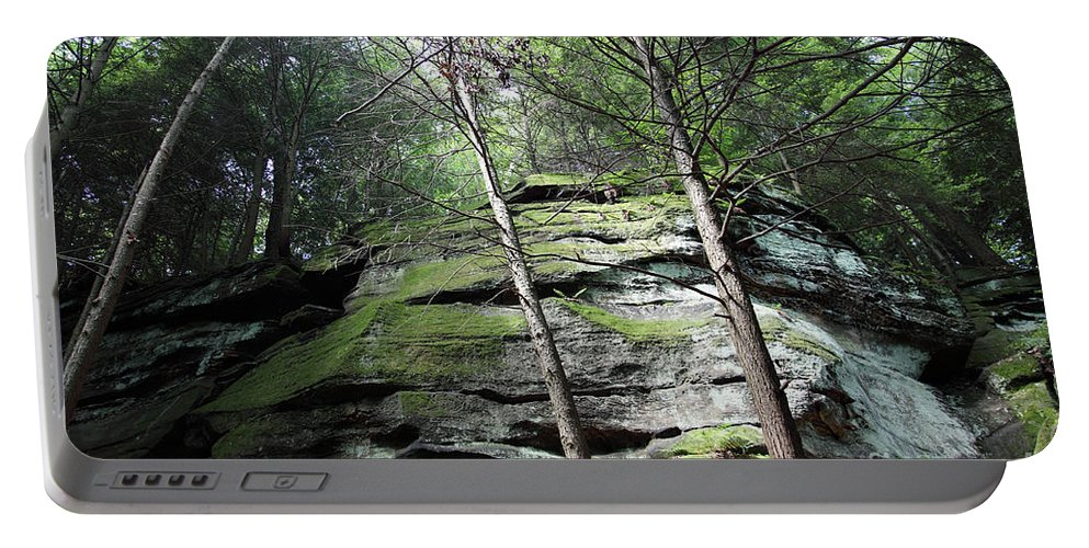 Nature Portable Battery Charger featuring the photograph The Original My Space by Amanda Barcon