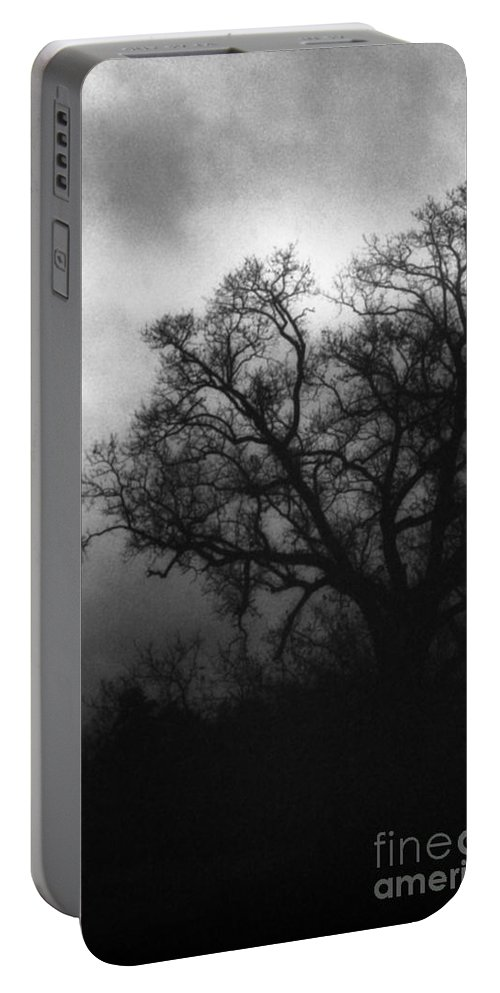 Eerie Portable Battery Charger featuring the photograph The Other Side by Richard Rizzo