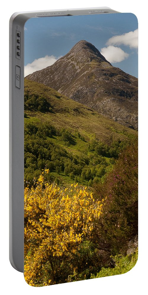Scotland Portable Battery Charger featuring the photograph The Pap Of Glencoe by Colette Panaioti