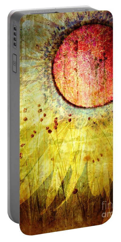 Flower Portable Battery Charger featuring the photograph The Petals by Tara Turner