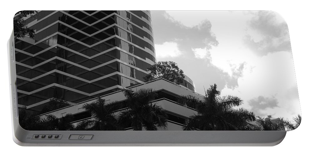 Architecture Portable Battery Charger featuring the photograph The Place To Be by Rob Hans