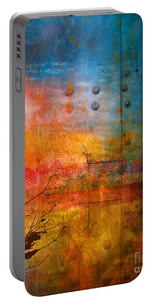 Colour Portable Battery Charger featuring the photograph The Places I Have Never Been by Tara Turner
