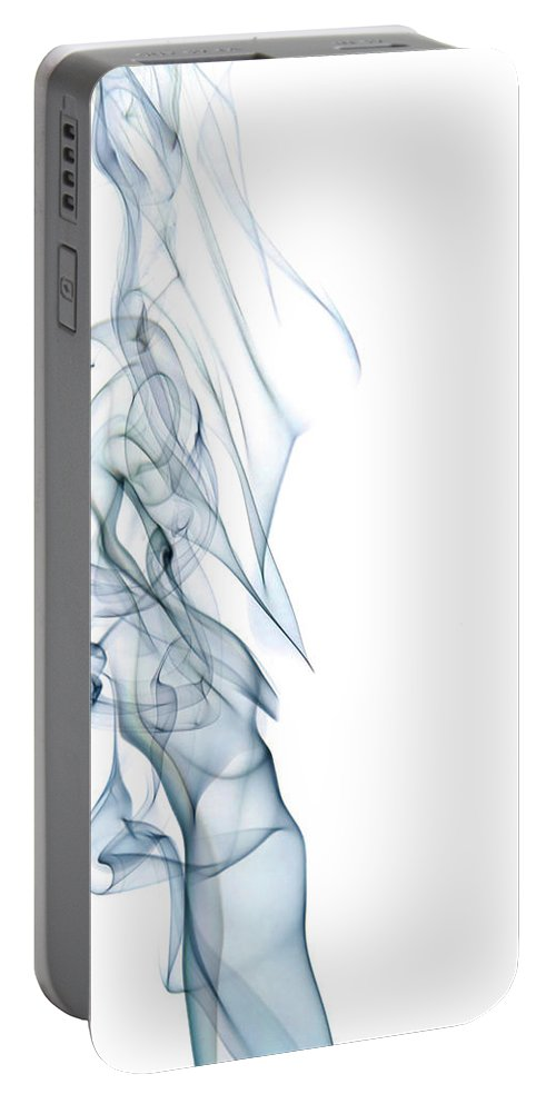 Abstract Portable Battery Charger featuring the photograph The Queen by Shannon Workman
