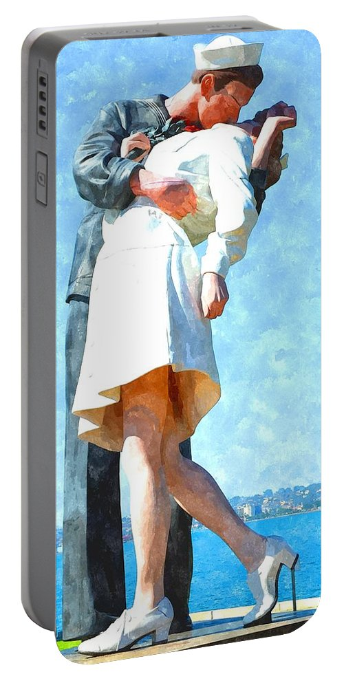San Diego Portable Battery Charger featuring the photograph The Return by Image Takers Photography LLC - Laura Morgan