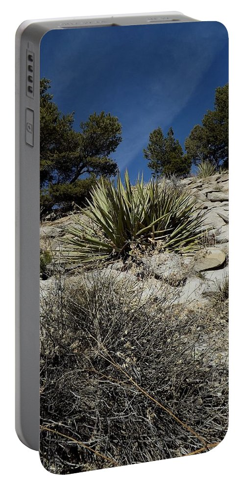 Color Photography Portable Battery Charger featuring the photograph The Rising Land by Kirk Griffith
